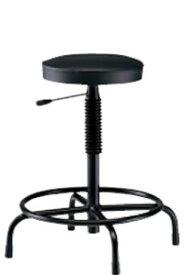 高作業用チェアー 作業用チェア 作業椅子 作業用椅子 ガス昇降 固定脚キャスターなし TDL-315