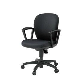イトーキ 椅子 リエット チェアー 事務チェアー オフィスチェアー 事務椅子 ローバック 再生布地(GB) ループ肘 ナイロン双輪キャスター付 KFS-745GB