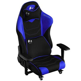 Bauhutte バウヒュッテ ゲーミングチェア ゲーミング座椅子 ハイバック フロアチェア GAMING FLOOR CHAIR ブルー色 GX-530-BU