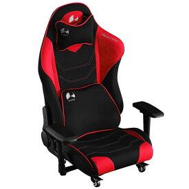Bauhutte バウヒュッテ ゲーミングチェア ゲーミング座椅子 ハイバック フロアチェア GAMING FLOOR CHAIR レッド色 GX-530-RD