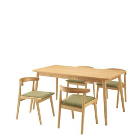 東谷 ヘンリー ダイニングテーブル 150×80 5点セット HOT-540 HOC-541