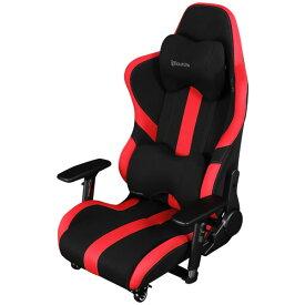 Bauhutte バウヒュッテ ゲーミング座椅子 チェア GAMING FLOOR CHAIR レッド&ブラック LOC-950RR-RD