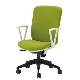 オフィスチェアー オフィスチェア 事務用椅子 QRチェア 肘付 ハイバック 布張り QRS-40+QRS-RA