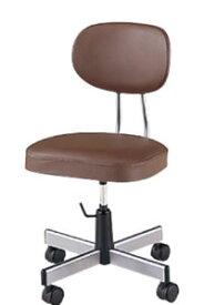 オフィスチェア 導電 作業用チェア 作業用椅子 導電双輪キャスター付き 手動上下調節 NOT-E160C