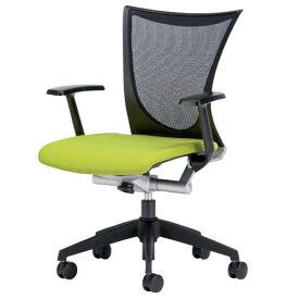オフィスチェアー オフィスチェア 椅子 AMITTO アミット 背メッシュ 座クッション 肘付き AMI-A35