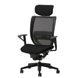 オフィスチェアー オフィスチェア 椅子 エスエフアール チェア SFR CHAIR ヘッド付 座クッション 固定肘 SFR-A68RB