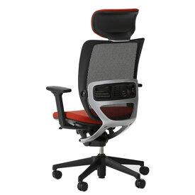 オフィスチェアー オフィスチェア 椅子 エスエフアール チェア SFR CHAIR ヘッド付 座クッション 3WAY可動肘 SFR-H68RB