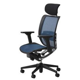 オフィスチェアー オフィスチェア 椅子 エスエフアール チェア SFR CHAIR ヘッド付 座メッシュ 3WAY可動肘 SFR-H78