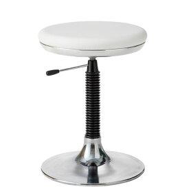 メディカルチェア 患者 診察 椅子 患者用チェア 診療イス 背パイプ無 ガス上下調節 円盤脚 丸椅子 キャスターなし TSM-M13L