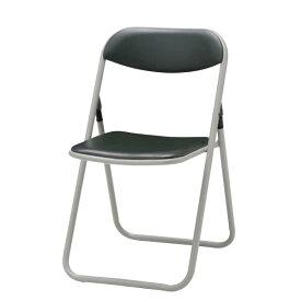 折りたたみチェア パイプ椅子 イス いす 5脚セット ビニールシート張り 塗装脚 TPL-39MN-SET