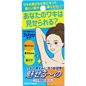 【メール便送料無料】ペリカン石鹸 魅せるーの ワキ用固形石けん 85g