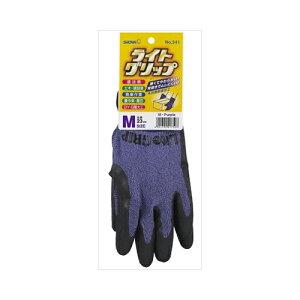 【送料無料】10個セット ショーワグローブ ライトグリップ 手袋 Mサイズ パープル