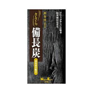 【送料無料】ささら備長炭無香性バラ詰100G