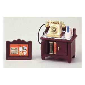 【送料無料】カ−501 電話台セット