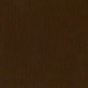 【American Crafts/アメリカンクラフト】 Bazzill Paper バジルペーパー 309034 チョコレート 1パック10枚入(4107993)