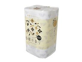 (96ロール:12ロール×8パック)四国特紙 トイレットペーパー 白檀の香り ダブル 芯あり 30m 1セット