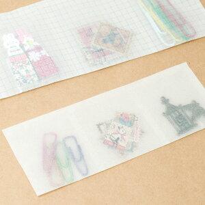 グラシン紙150×150mm(50枚)白無地折り紙サイズ半透明薄葉紙