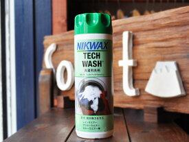 NIKWAX - Loftテックウォッシュ (300ml) [ ニクワックス EBE181 Tech Wash 防水・撥水布地専用洗剤 ]