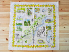 The Printed Image - Appalachian Trail バンダナ [ザ・プリンテッド・イメージ Nature Facts Bandanas #422 アパラチアン トレイル APT]