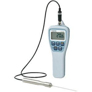 SATO 佐藤計量器 防水型デジタル温度計SK-270WP 標準センサS270WP-01付 8078-00