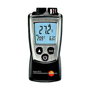 testo 赤外線放射温度計 testo 810