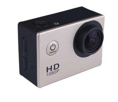 【FullHDアクションカメラ】ドライブレコーダーにもなるアクションカメラ!シガレットチャージャーや防水ケースなどもフルセット!!