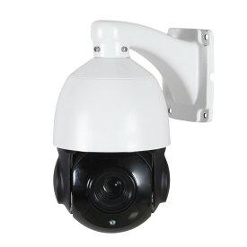 PTZ IP防犯カメラ SONY IMX323 CMOS搭載 PTZタイプ IPカメラ 200万画素の超高画質 屋外用PTZ 監視カメラ ONVIF規格 対応の録画機(DVR)で共通に使用可能! 存在感のある5インチサイズ! IP66防水仕様 カメラの設定も細かく可能 動体検知 FTP 連動可能 自力志向