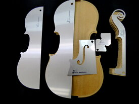 Violin Template 5piece set Strad Mediceo