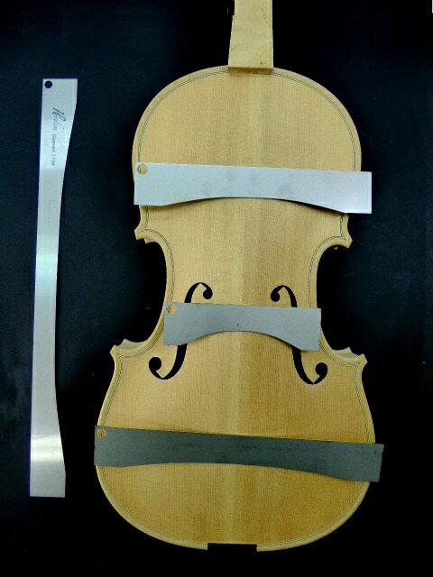 Back Arch Template 4piece set Strad Mediceo 1727 Violin