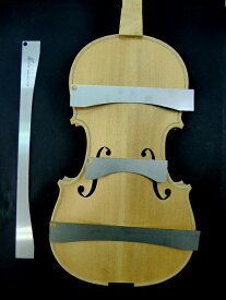 Strad Mediceo 1716 Violin Herdim Top Arching Templates 4piece set バイオリン表板 アーチ型(4枚セット)