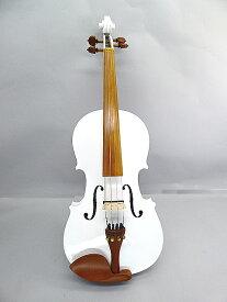 Electric Viola 16 inchGuruneri White Color