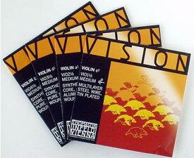 バイオリン弦 VISION 分数(1/16-1/2)set