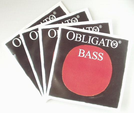 コントラバス弦 ピラストロ「オブリガート」set PIRASTRO OBLIGATO Bass