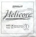 5弦ビオラ用E線 ダダリオ「ヘリコア」 D'Addario Helicore Viola H415 LM