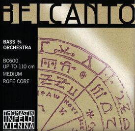 コントラバス弦 ベルカント セット BC600