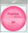 円高還元特価チェロ弦セット Patrick(Sof Nickel)