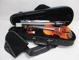 鈴木バイオリン アウトフィットバイオリンNo.210-1/10 (バイオリン、ケース、弓、松脂のセット品)