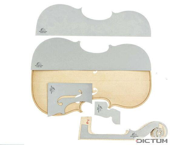Violin Template setStrad Milandolo