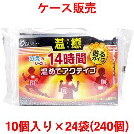 【訳あり】 温癒 貼るカイロ レギュラー 240枚入 ケース販売