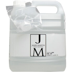 ※ジェームズマーティン フレッシュサニタイザー 詰替え用ボトル 4L