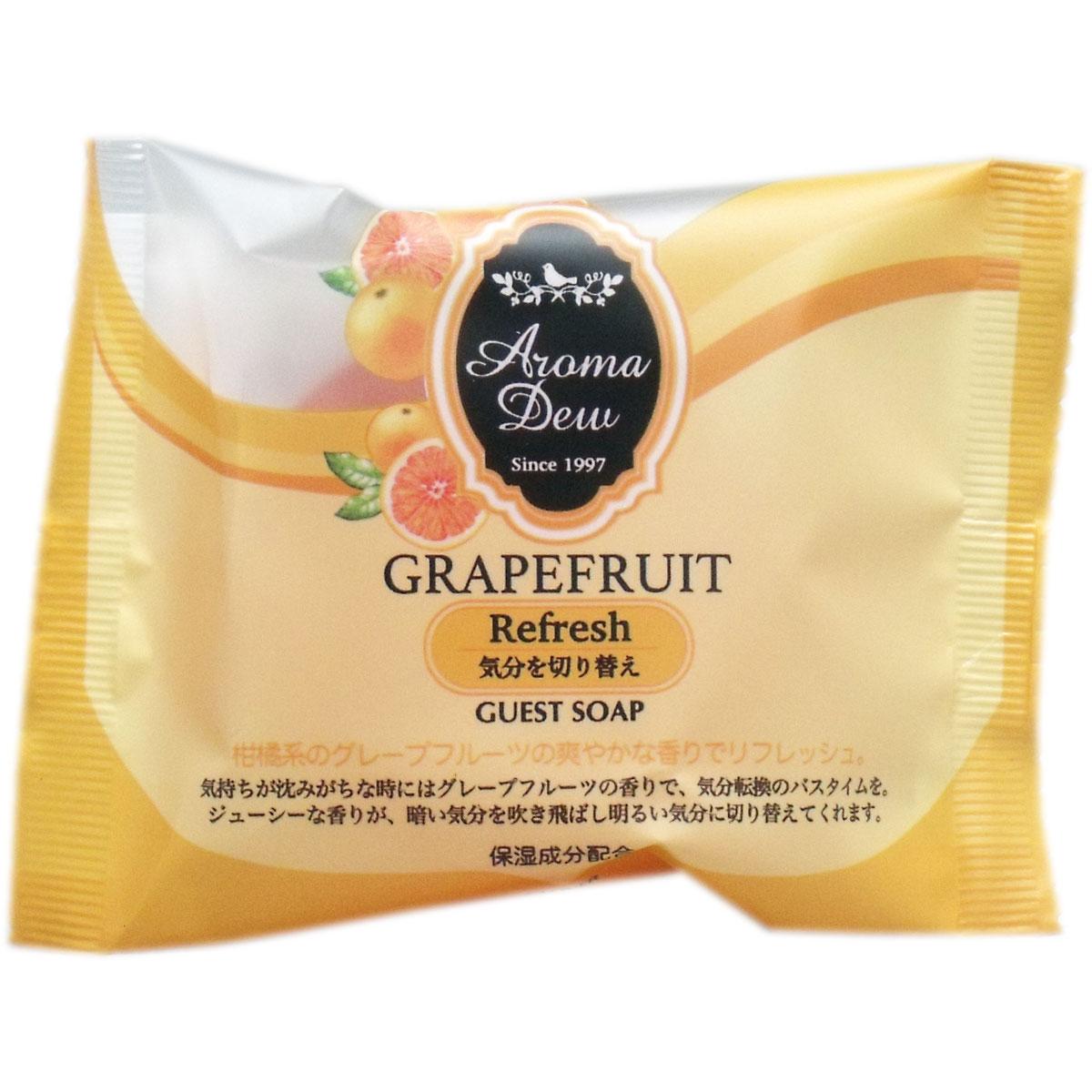 アロマデュウ ゲストソープ グレープフルーツの香り 35g