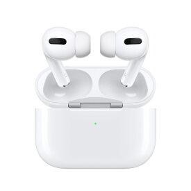 AirPods pro MWP22J/Aエアポッズプロ 保証未開始 Bluetooth対応ワイヤレスイヤホン Apple エアポッズ プロ アップル純正 ワイヤレスイヤホン ノイズキャンセリング iPhone ペアリング Bluetooth 白 ホワイト 正規品[ラッピング対応可]
