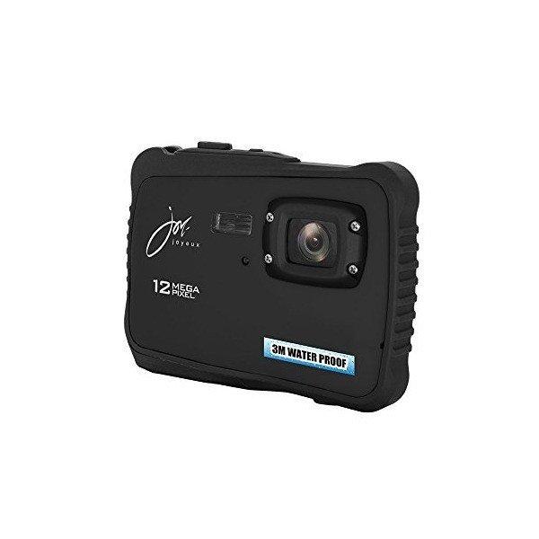 【3万円以上送料無料 代引可 平日15時まで当日発送】ジョワイユ 12MEGA PIXEL 防水 デジタルカメラ ブラック