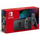 新型 Nintendo Switch ニンテンドースイッチ 本体 Joy-Con グレー 任天堂 ゲーム機 プレゼント ギフト 家族 ファミリ…