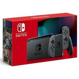 新型 Nintendo Switch ニンテンドースイッチ 本体 Joy-Con グレー 任天堂 ゲーム機 プレゼント ギフト 家族 ファミリー [ラッピング対応可]