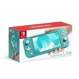 【キャッシュレス5%還元 全国送料無料】Nintendo Switch Lite TURQUOISE ターコイズ ニンテンドースイッチ 本体 任天堂 [ラッピング対応可]NKG