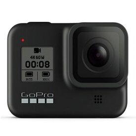 GoPro HERO8 Black ゴープロ ヒーロー8 CHDHX-801-FW [ラッピング対応可] 写真 車載 アクセサリー込 webカメラ 首掛け 水中 ブラック アウトドア 野外 youtube スポーツ 手振れ補正 自撮り アクション