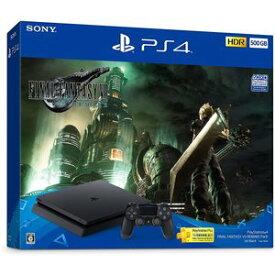 PlayStation 4 ファイナルファンタジー 7 リメイク 限定本体 セット プレイステーション4 CUHJ-10035 FINAL FANTASY VII REMAKE Pack(HDD:500GB) FF7 R SONY ゲーム機 ソフトセット [ラッピング不可]