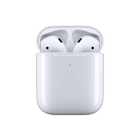 Apple AirPods with Wireless Charging Case アップル エアポッズ イヤホン ワイヤレス充電 MRXJ2J/A [ラッピング対応可]