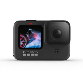 GoPro(ゴープロ) HERO9 アクションカメラ GoPro Black CHDHX-901-FW [4K対応 /防水][ラッピング対応可] 写真 車載 webカメラ ブラック アウトドア 野外 youtube スポーツ 自撮り アクション